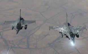 Capture d'écran d'une vidéo du ministère de la Défense mise en ligne le 19 février 2015.