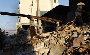 La ville de Port-au-Prince en Haïti a été totalement ravagée par le séisme.