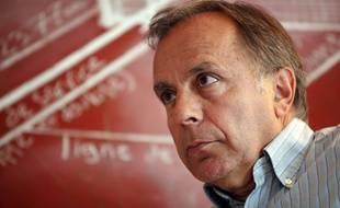 L'ancien joueur de tennis et consultant Patrice Dominguez, en 2009, à Roland-Garros.
