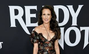 L'actrice Andie Macdowell