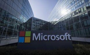 Les bureaux de Microsoft à Paris.