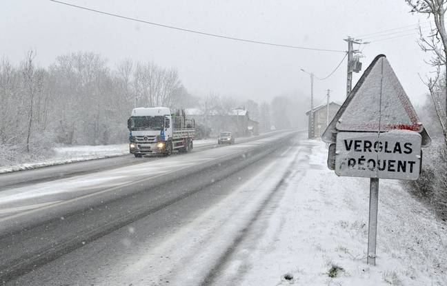 Neuf départements du nord et de l'est de la France placés en vigilance orange neige et verglas