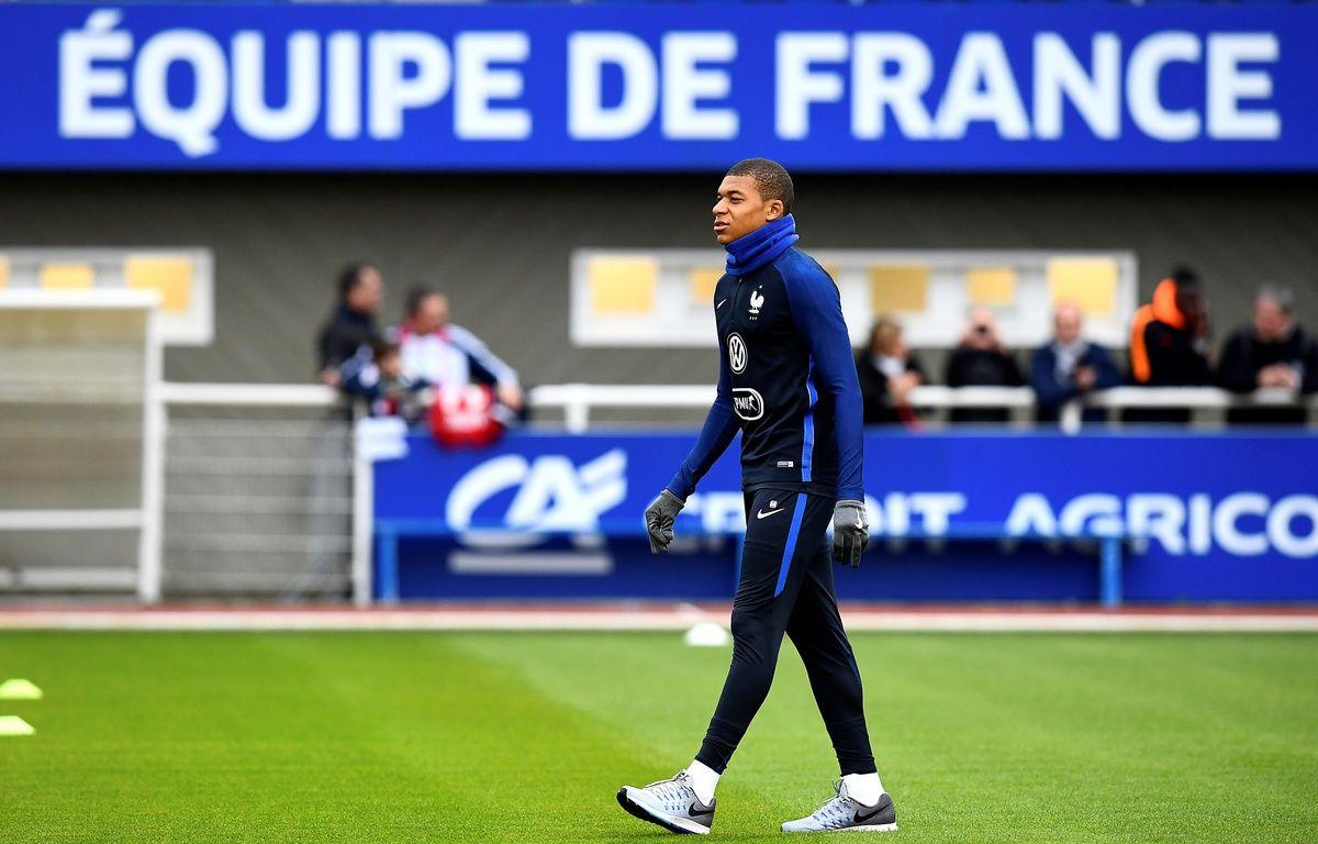 Mbappé en Bleu, c'est beau – FRANCK FIFE / AFP