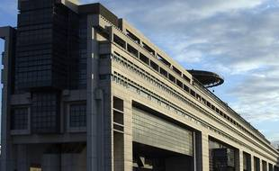 Ministère de l'Economie, à Bercy