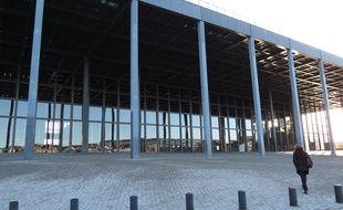 Nantes, le 17 février 2015, le palais de justice, sur l'île de Nantes