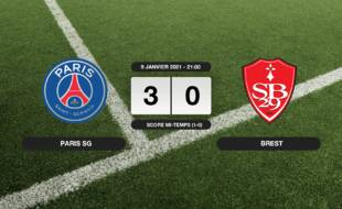 PSG - Stade Brestois: Succès 3-0 du PSG face au Stade Brestois