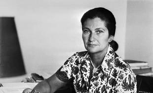 Undated picture for French Minister for Health Simone Veil.