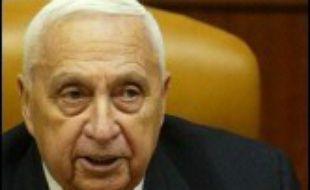 Ariel Sharon a été déclaré officiellement dans l'incapacité d'exercer ses fonctions le 14 avril, soit 100 jours après son admission à l'hôpital conformément à la législation israélienne.