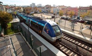 La gare de Sainte-Marthe