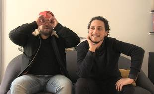 Alban Ivanov et Samuel Djian répondent à nos questions WTF.