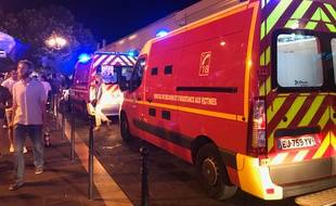 Une intervention nocturne de sapeurs-pompiers (illustration).