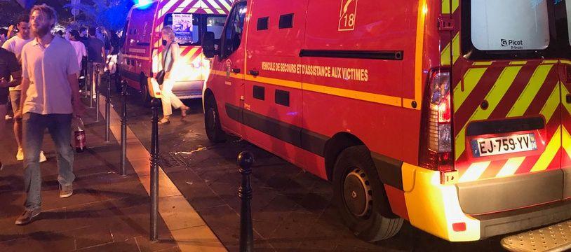 Une intervention nocturne de sapeurs-pompiers (illustration).