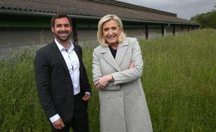 La tête de liste du Rassemblement national Julien Odoul a ironisé sur le suicide des agriculteurs.