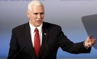 Le vice-président américain Mike Pence à Munich le 18 février 2017.
