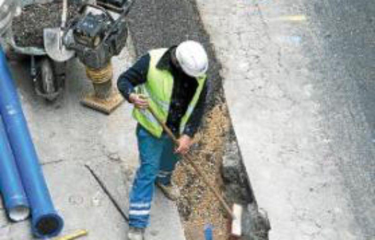 23,3km de canalisations ont été remplacées l'année dernière. –  p. magnien / 20 minutes