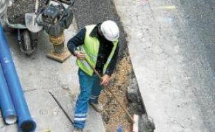 23,3km de canalisations ont été remplacées l'année dernière.