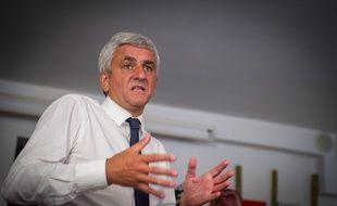 Le centriste Hervé Morin, à Tours le 3 septembre 2014.