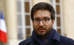 """Emmanuel Domenach, rescapé du Bataclan et vice-president de l'association """"13 novembre : Fraternité et Verité"""". AP Photo/Francois Mori."""