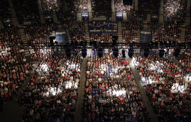 NANTES le 26/01/2013 Les spectateurs au Zenith lors d un spectacle