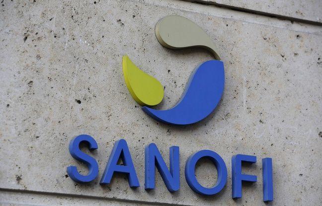 648x415 le logo de sanofi sur les murs du siege de l entreprise a paris