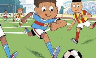Max Fou de Foot, une série pour les jeunes fans de football.
