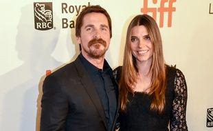 L'acteur Christian Bale et sa femme Sibi Blazic
