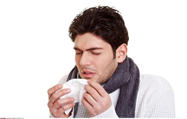 Illustration d'une personne allergique