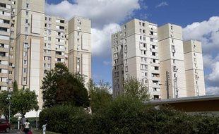 Cité des Tarterêts à Corbeil Essonne en août 2012.