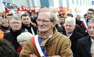 L'ancien maire de Saint Nazaire Joel Batteux (ici en 2010) est décédé