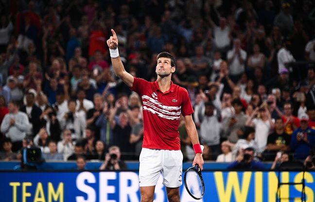 ATP Cup : Djokovic déroule contre Nadal, la finale va se décider dans le double