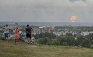 L'explosion en Russie