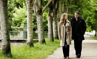 "Isabelle Huppert et Jean-Hugues Anglade dans ""Villa Amalia"""