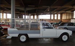 Cette papamobile a été vendue 14.900 euros.