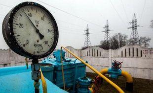 Un gazoduc près de Kiev le 4 mars 2014