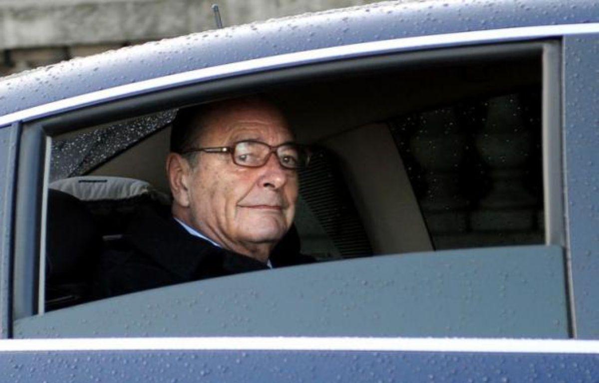 """L'ex-président Jacques Chirac, condamné jeudi à 2 ans de prison avec sursis notamment pour détournement de fonds publics, a annoncé dans un communiqué qu'il ne """"ferait pas appel"""" même si """"sur le fond, il conteste catégoriquement ce jugement"""". – Lionel Bonaventure afp.com"""