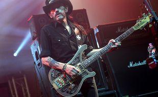 Le chanteur de Motörhead, Lemmy Kilmister