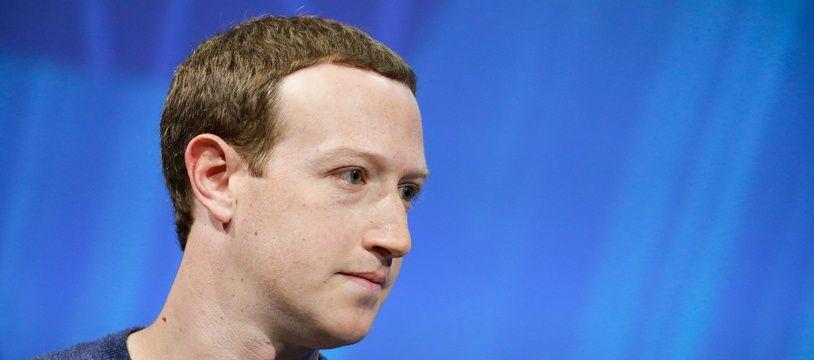Mark Zuckerberg, le patron de Facebook, le 24 mai 2018 à Paris.