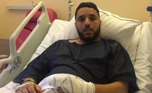 L'imam Rachid Eljay a posté une vidéo sur sa chaîne YouTube samedi, deux jours après avoir été blessé par balles.