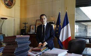 Gerald Darmanin ministre de l'Action et des Comptes publics au Ministre des finances de Bercy.