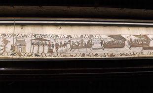 La tapisserie de Bayeux, illustration