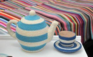 Le bar à tricot propose des cours de couture, tricot et crochet.