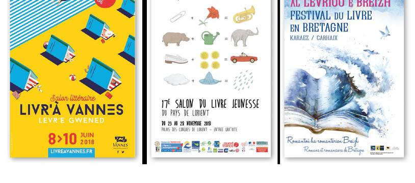 100 manifestations littéraires en Bretagne