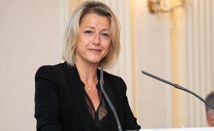 Barbara Pompili, Ministre de la Transition Ecologique à Paris le 8 septembre 2020