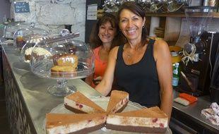 Les gâteaux vendus dans le Café de Max sont crus, vegans et sans gluten.