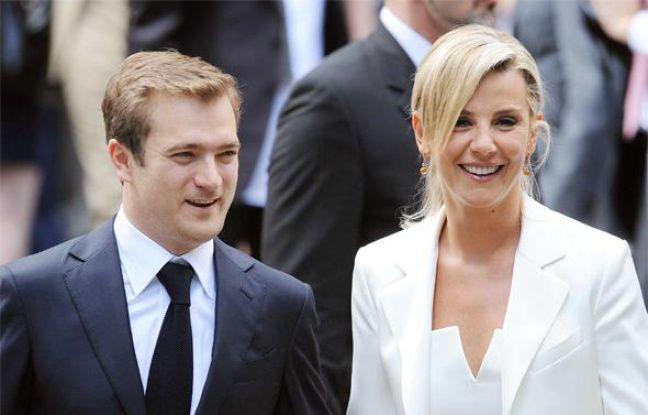 La journaliste Laurence Ferrari a épousé le violoniste Renaud Capuçon à la mairie du XVIe arrondissement de Paris le 03 juillet 2009.