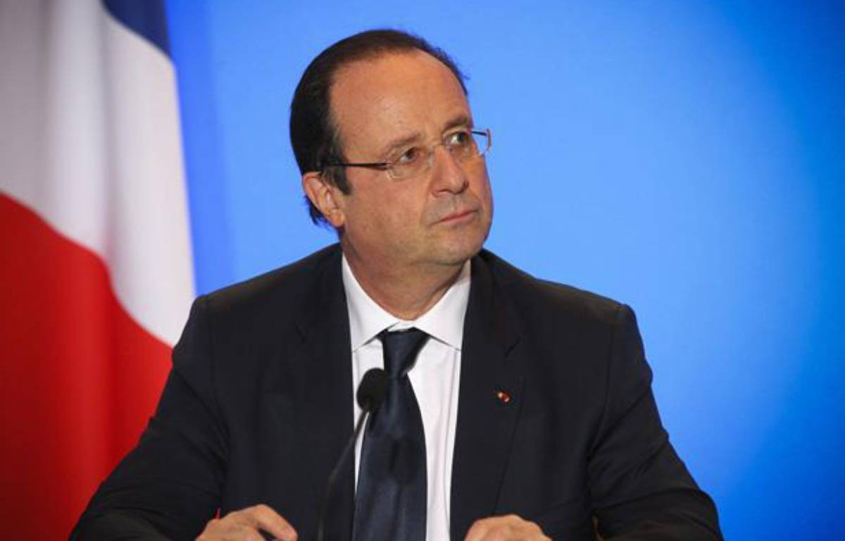 François Hollande à Toulouse le 9 janvier 2014. – 20 MINUTES/FRED SCHEIBER