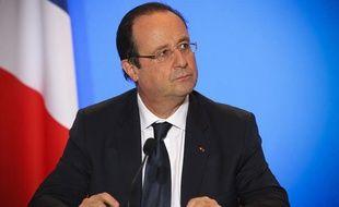 François Hollande à Toulouse le 9 janvier 2014.