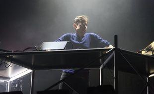 Le musicien et producteur français de musique électronique Rone (de son vrai nom Erwan Castex) lors de la 42 eme édition du festival de musique Le Printemps de Bourges, en 2018.