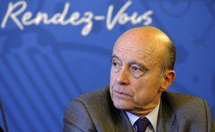 Alain Juppé, maire UMP de Bordeaux, le 12 mars 2015 à Lyon.