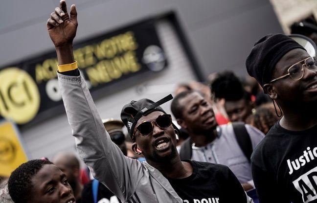 Val-d'Oise: Les proches d'Adama Traoré et les «gilets jaunes» marchent ensemble contre les violences policières